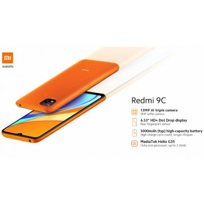 Original Xiaomi Redmi 9C (3GB+64GB) Sealed Set 1 Year Warranty Xiaomi Malaysia